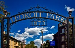 Ledroit Park Washington DC Gate Neighborhood