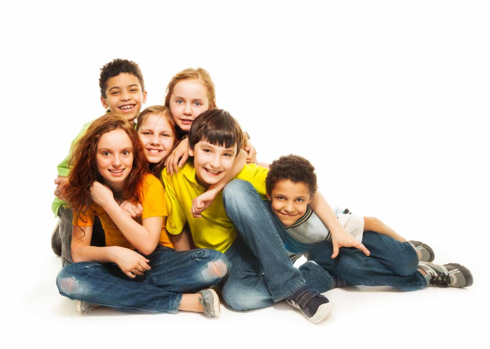 Group of Washington DC area kids